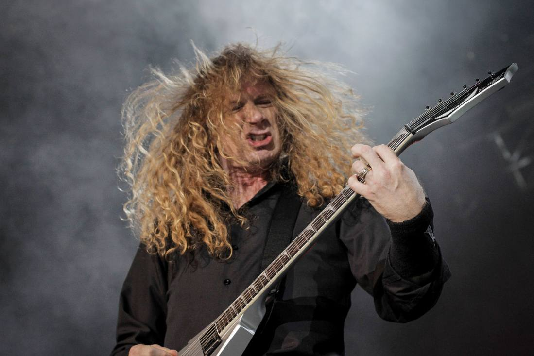 Megadeth  in the 3arena on 9 November 2015 by Yan Bourke