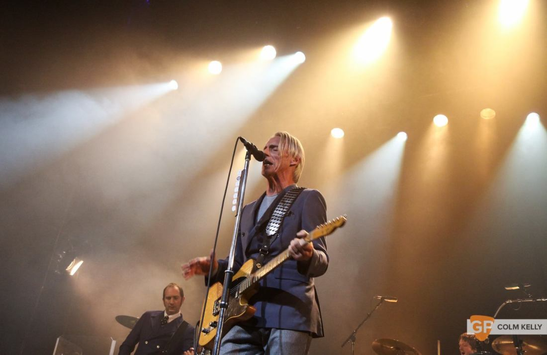 Paul Weller at The Olympia Theatre by Colm Kelly