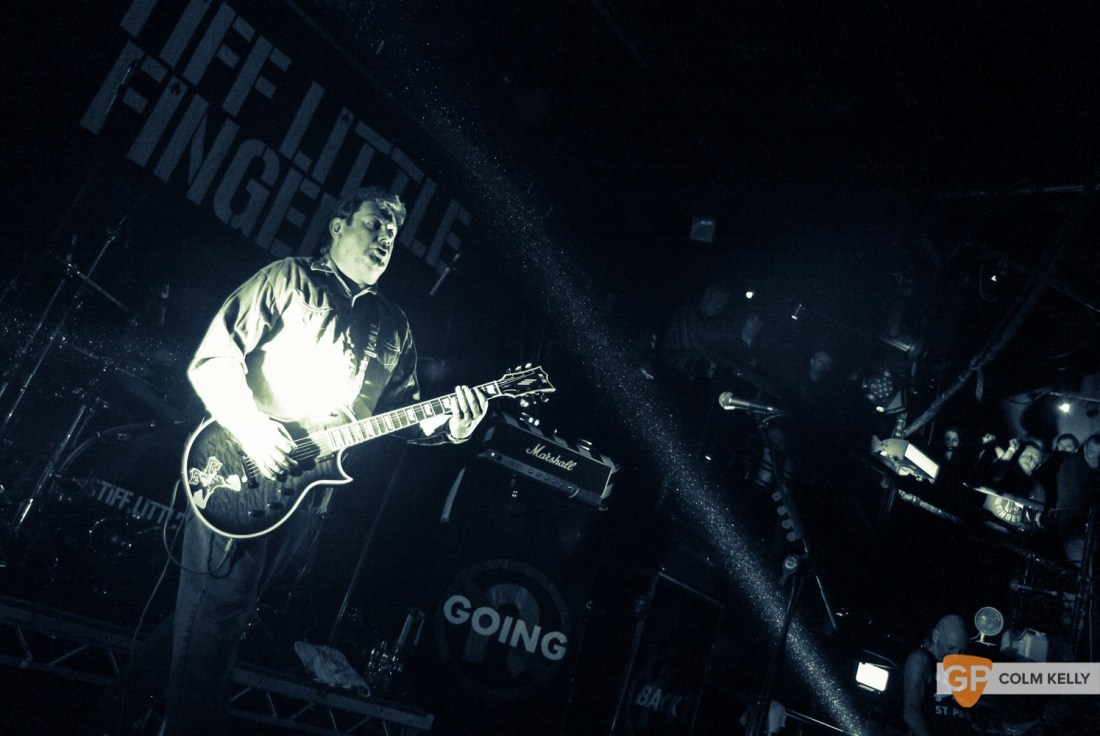 Stiff Little Fingers at The Academy by Colm Kelly