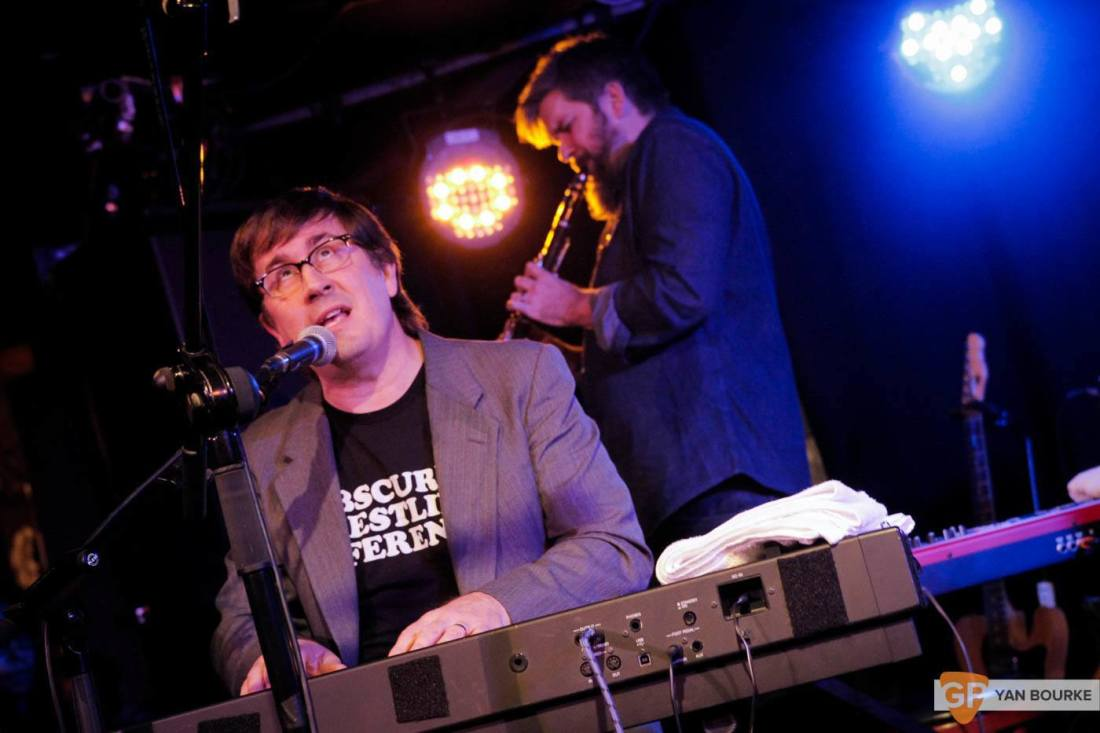 The Mountain Goats in Whelan's on 14 November 2015