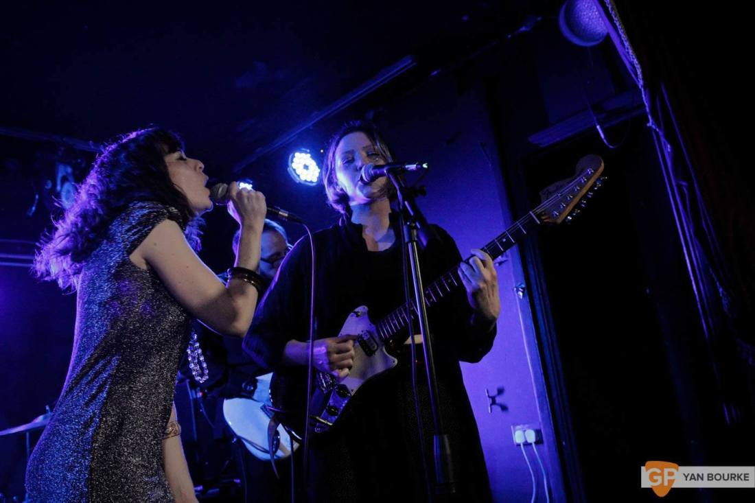 Bitch Falcon and Sleep Thieves in the Workman's Club on 18 December 2015 by Yan Bourke by Yan Bourke-7