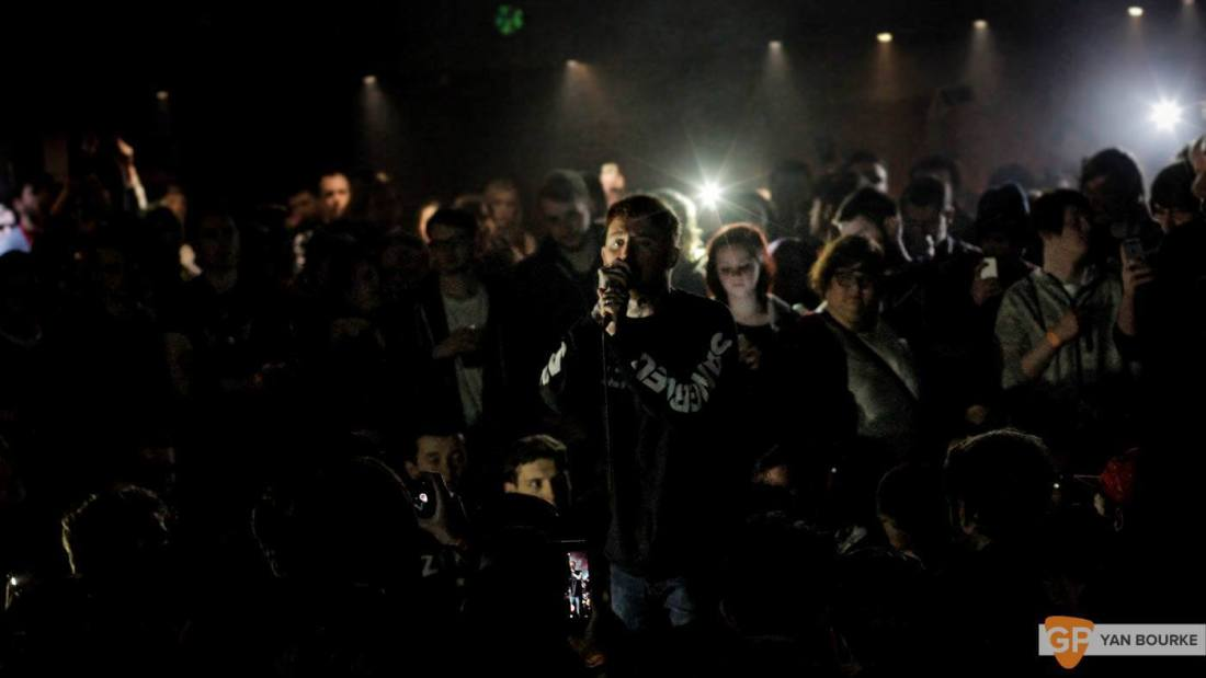 Frank Carter and the Rattlesnakes  in The Academy on 10 February 2016 by Yan Bourke-7