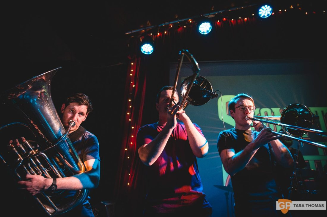 Stomptown Brass_EP Launch_Sugar Club_ Dublin