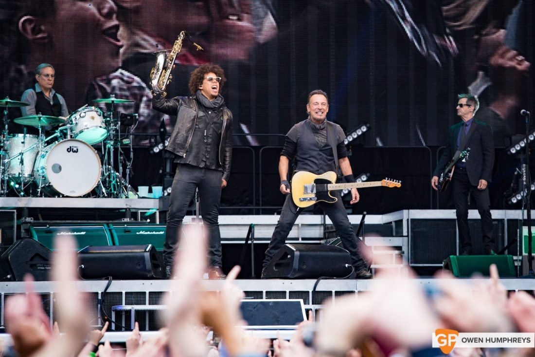 Bruce Springsteen at Croke Park by Owen Humphreys