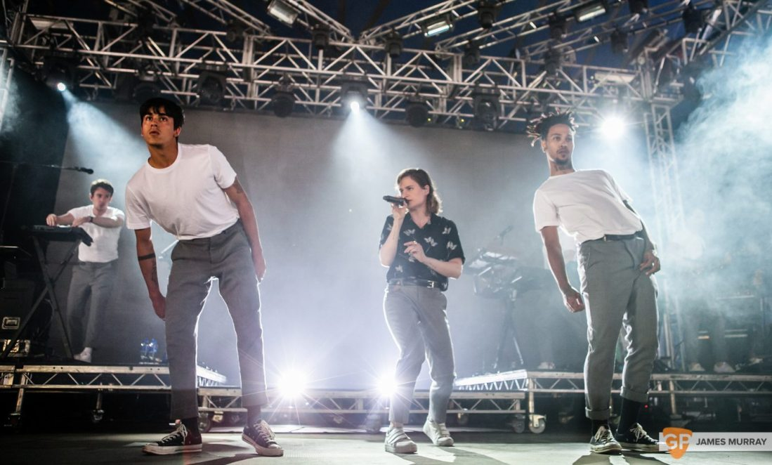 Christine & The Queens at Longitude by James Murray