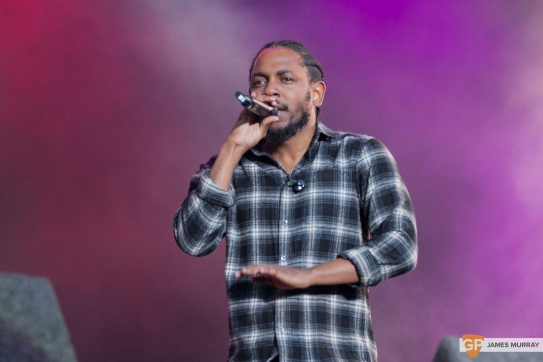 Kendrick Lemar at Longitude by James Murray