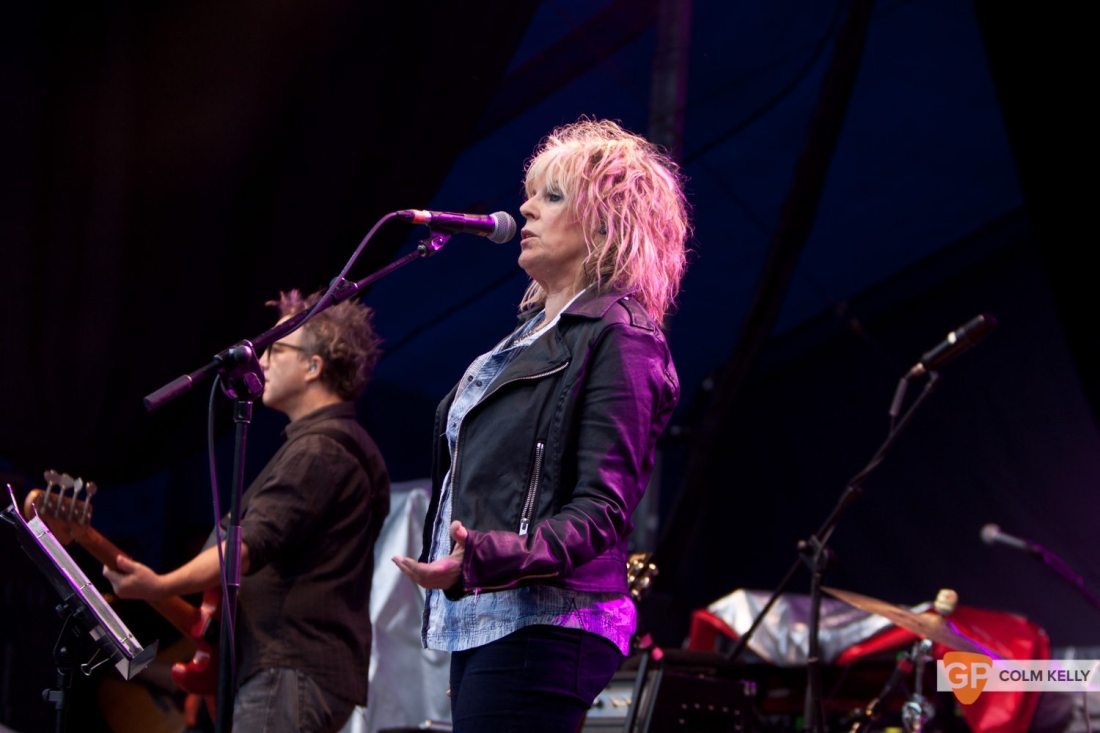 Lucinda Williams at The Iveagh Gardens by Colm Kelly