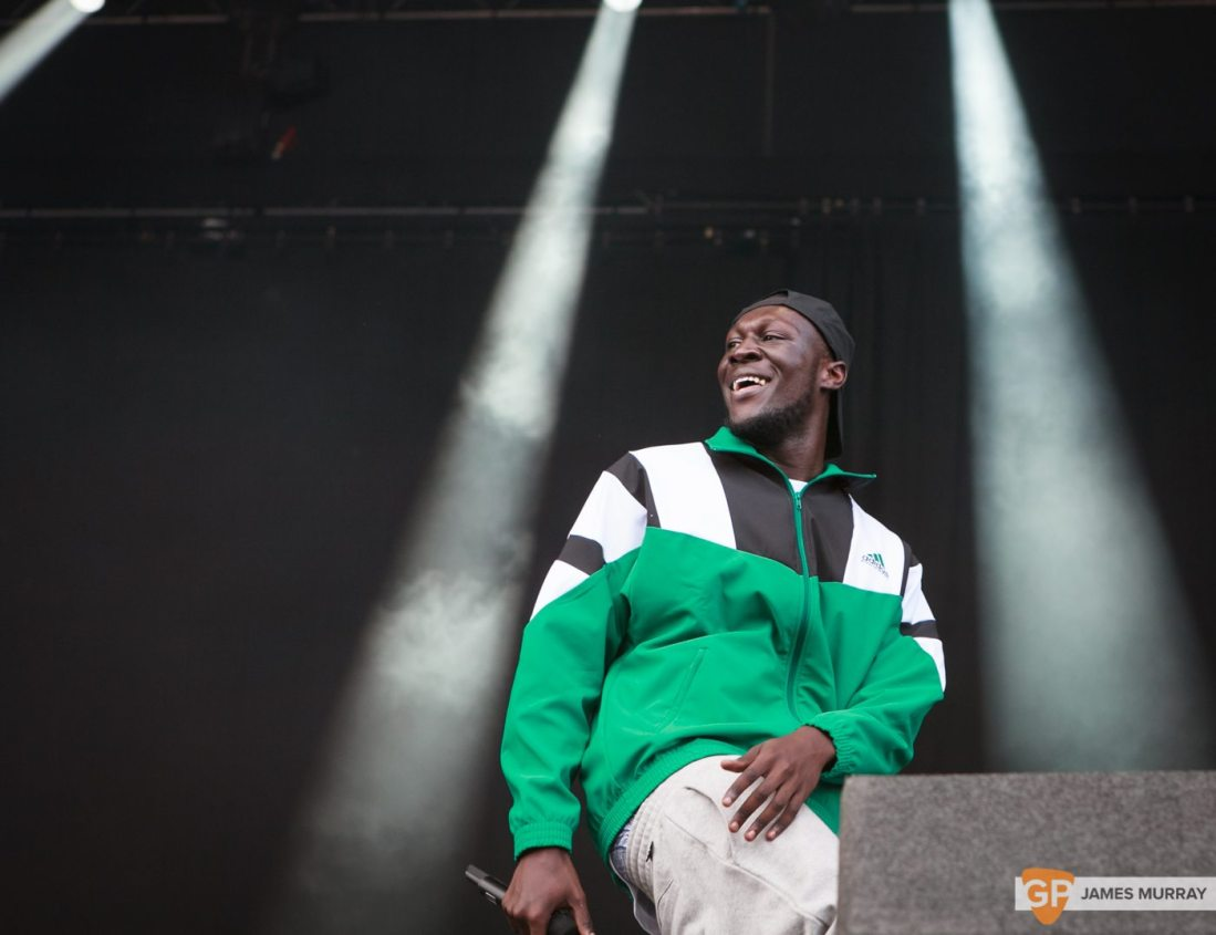 Stormzy at Longitude by James Murray