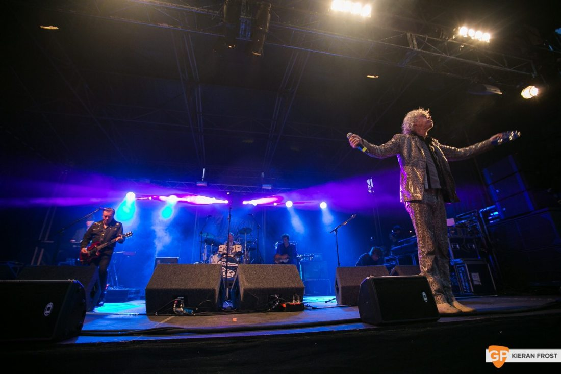 The Boomtown Rats peform at Bulmers Live at Leopardstown by Kier