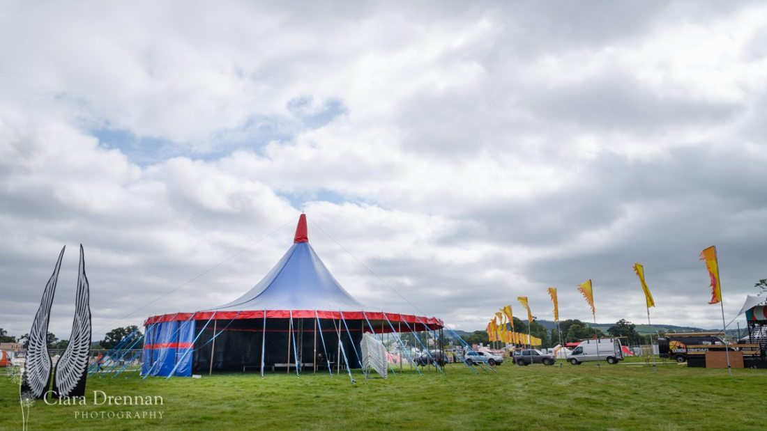 Jerry Fish Electric Sideshow Tent @ Electric Picnic Media Day 2016