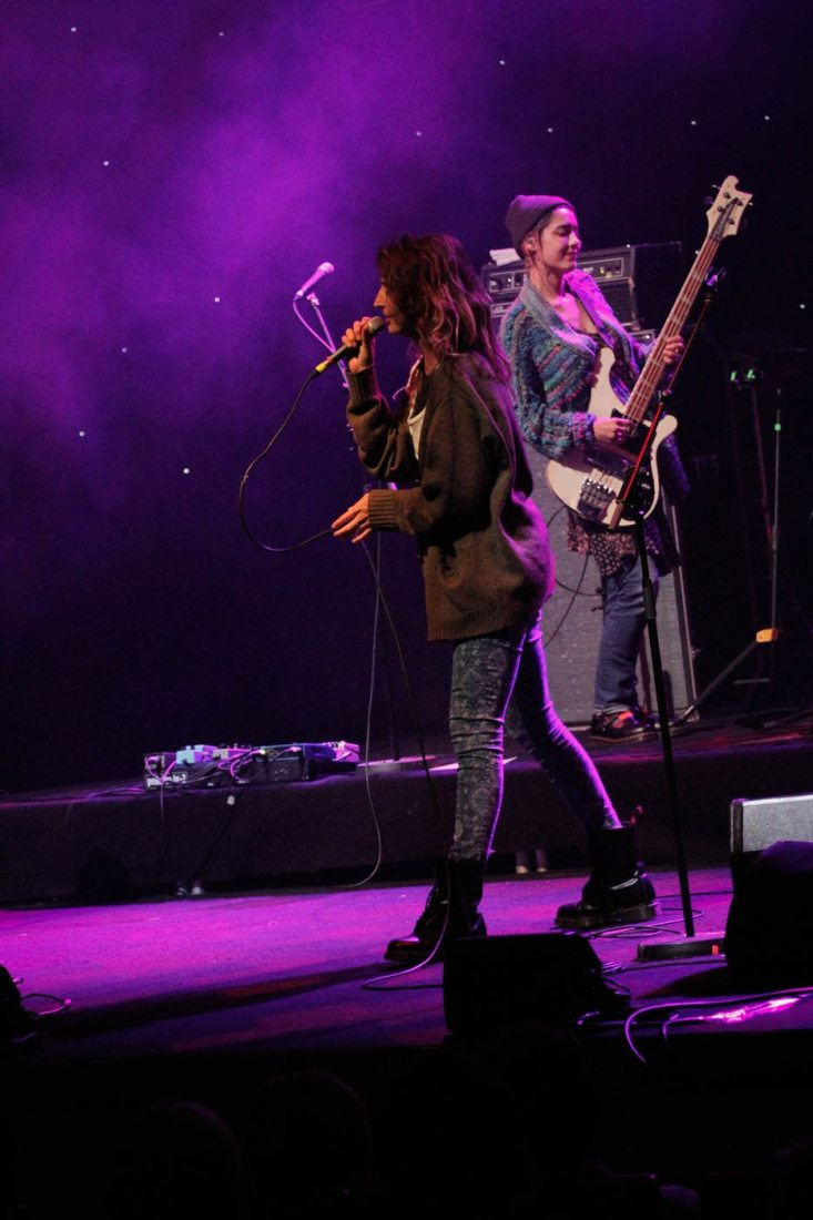 Warpaint in the National Concert Hall on 23 August 2016 by Yan Bourke