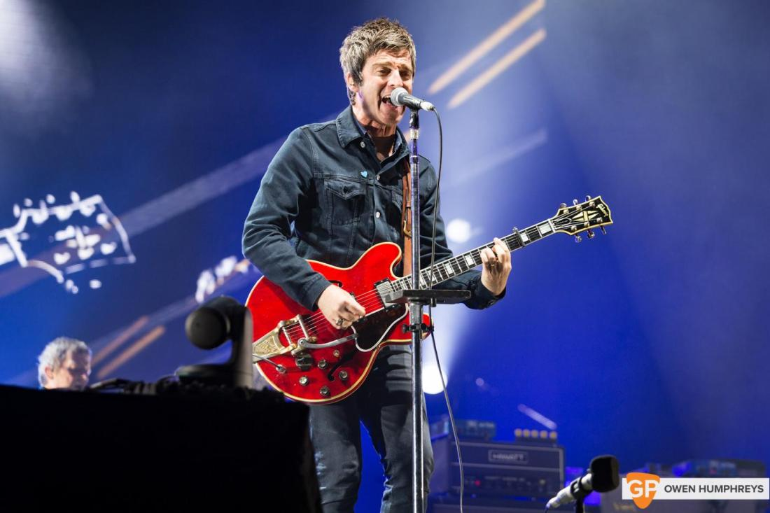Noel Gallagher's High Flying Birds at Electric Picnic by Owen Humphreys