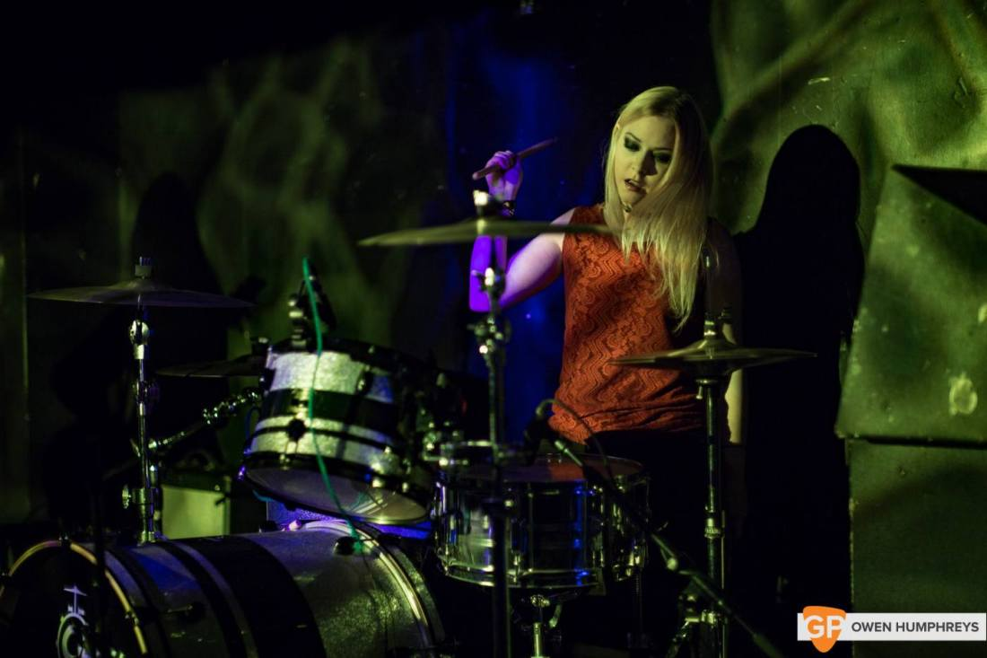 Vulpynes live at Hard Working Class Heroes 2016, photo by Owen Humphreys