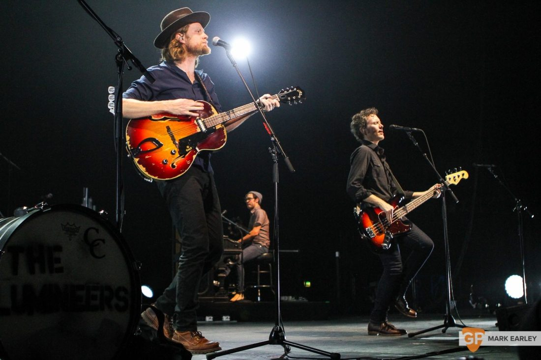 The Lumineers by Mark Earley for GoldenPlec