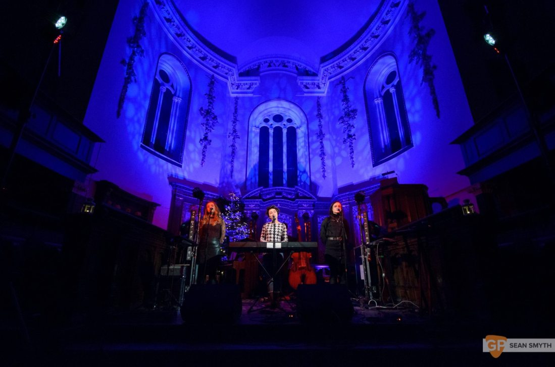 Farah Elle in St Anne's Church by Sean Smyth (8/12/16)