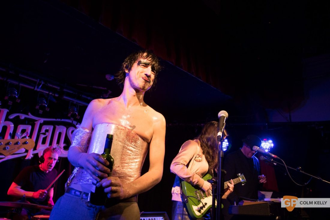 The Moonlandingz at Whelan's Dublin by Colm Kelly-1152
