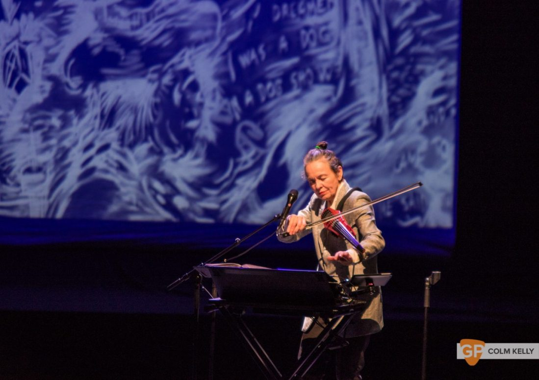 Laurie Anderson at The National Concert Hall Dublin by Colm Kelly-0053-2