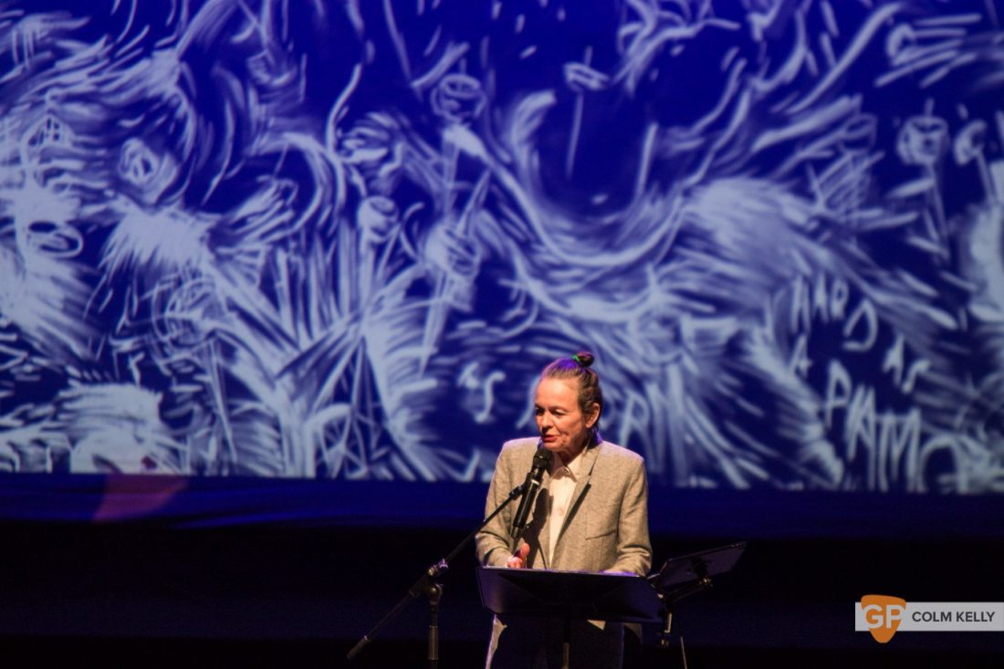 Laurie Anderson at The National Concert Hall Dublin by Colm Kelly-0068-2