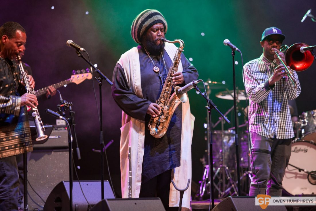 Kamasi Washington at The National Concert Hall by Owen Humphreys (1 of 17)