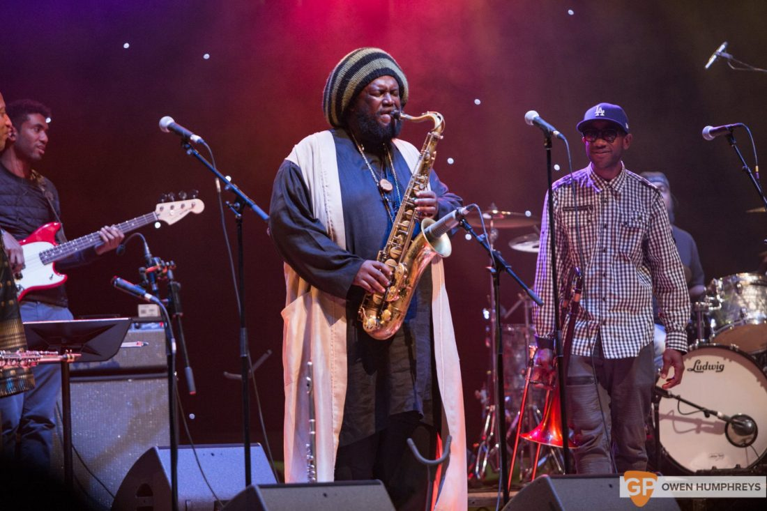 Kamasi Washington at The National Concert Hall by Owen Humphreys (13 of 17)