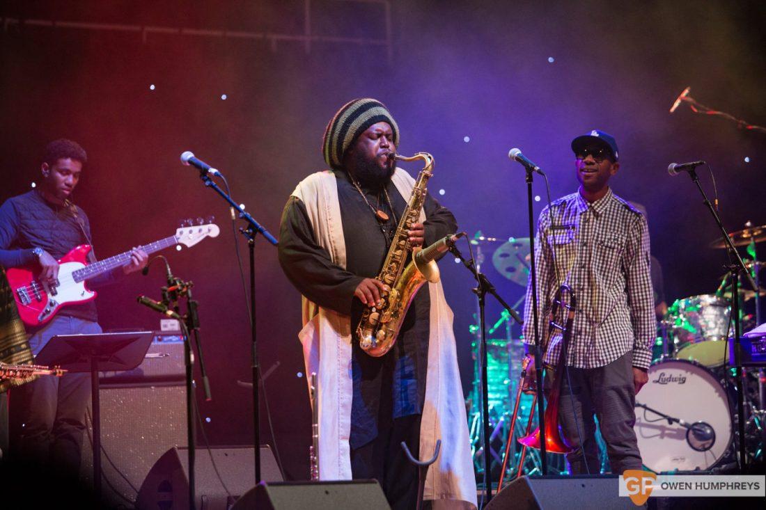 Kamasi Washington at The National Concert Hall by Owen Humphreys (16 of 17)