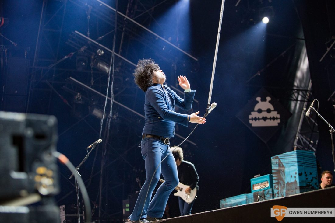 At The Drive In live at Lowlands Festival 2017