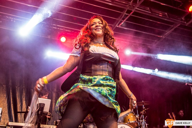 The Happy Mondays at Leopardstown Racecourse on 17 August 2017 (13 of 30)