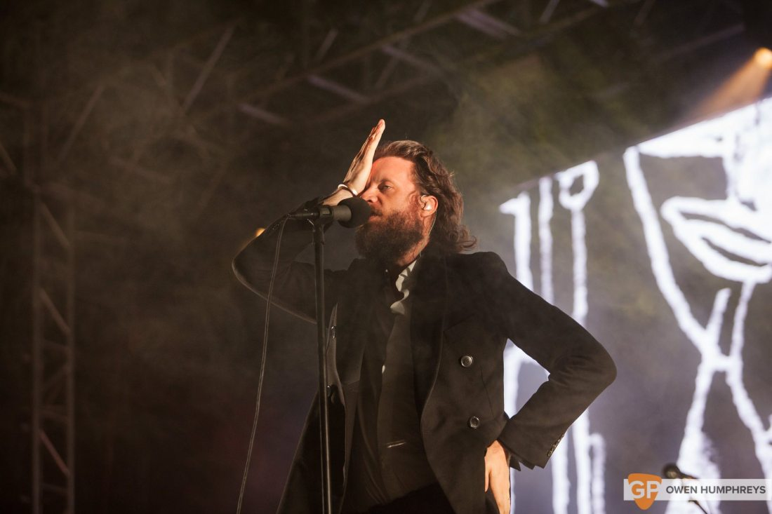 Father John Misty live at Electric Picnic