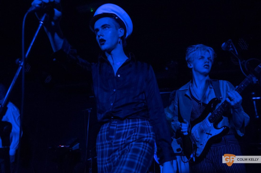 HMLTD at The Workmans Club, Dublin by Colm Kelly-10-28