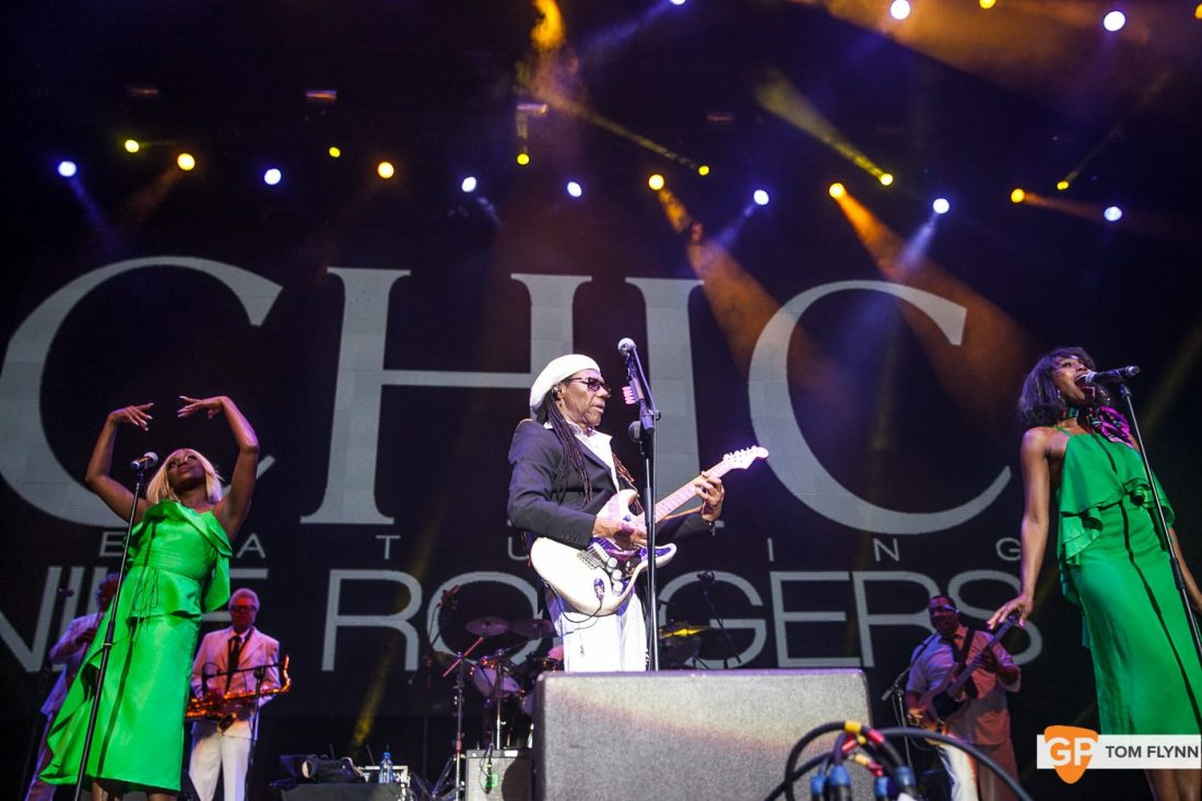 Chic at The 3Arena