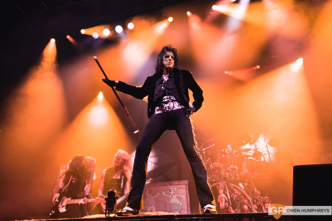 Alice Cooper at The Olympia Theatre by Owen Humphreys-8