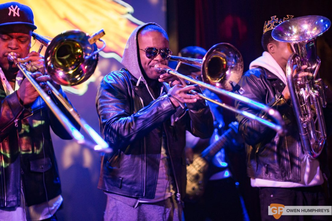 Hypnotic Brass Ensemble at The Sugar Club (7 of 17)