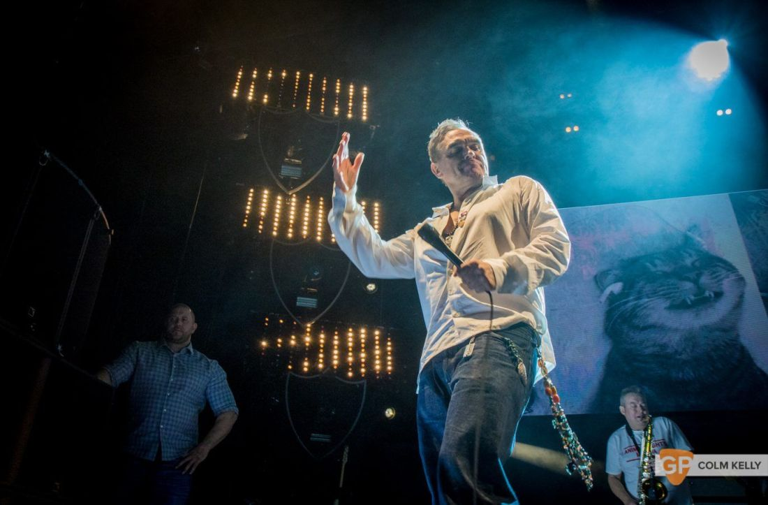 Morrissey at The 3Arena, Dublin 20.2.2018 by Colm Kelly-2-266