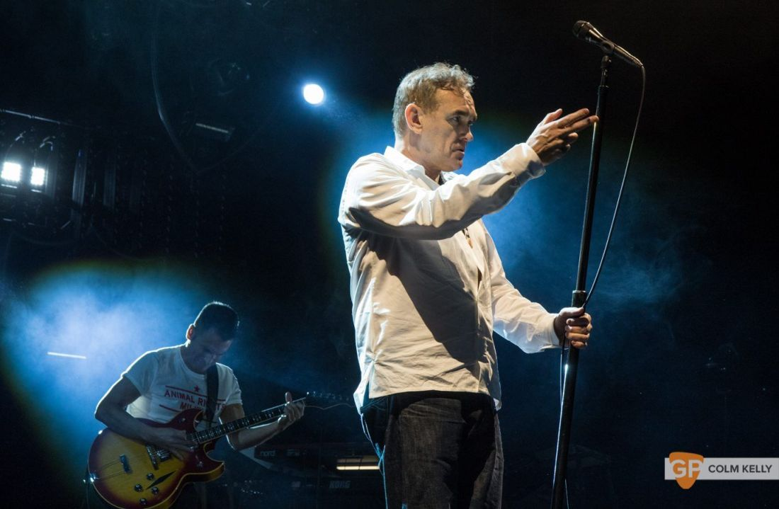 Morrissey at The 3Arena, Dublin 20.2.2018 by Colm Kelly-2-62