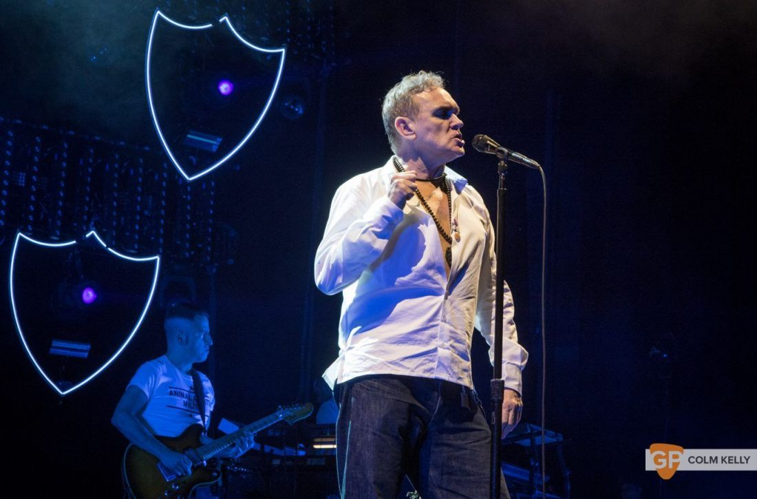 Morrissey at The 3Arena, Dublin 20.2.2018 by Colm Kelly-2-99