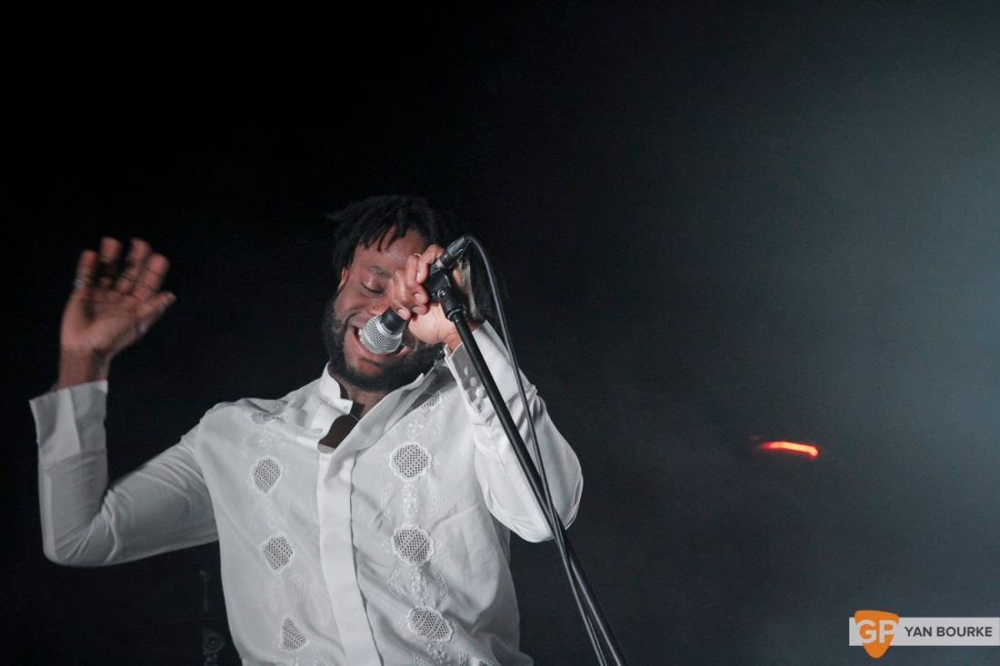 Young Fathers at The Academy on 28 March 2018