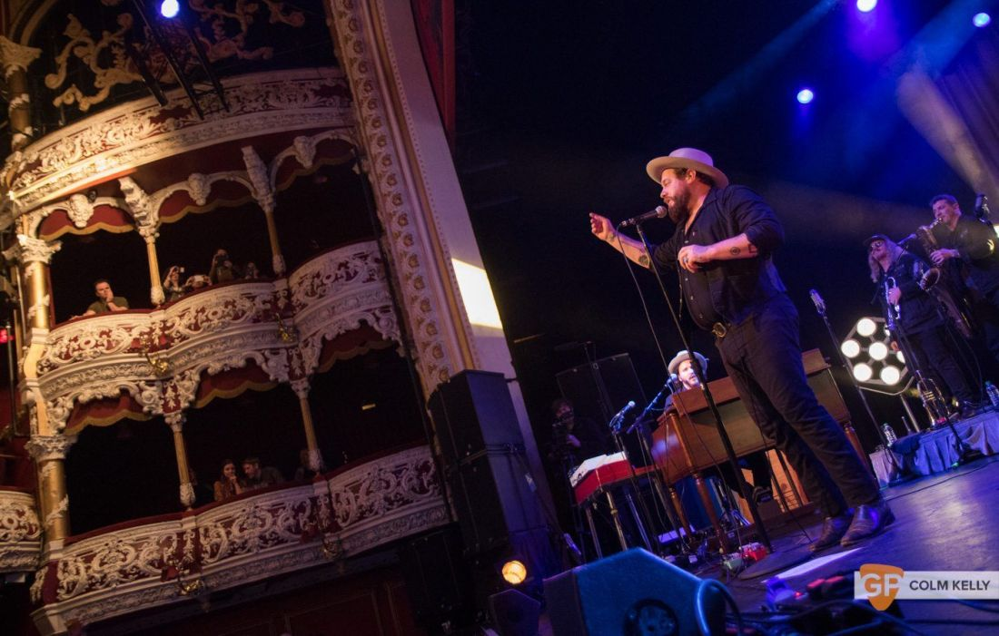 Nathaniel Radcliffe & The Nightsweats at Olympia Theatre, Dublin by Colm Kelly-1172