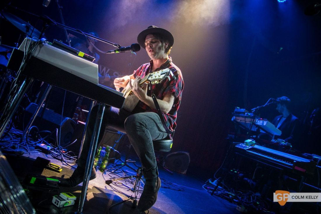 Gaz Coombes at The Academy, Dublin 25.5.2018 by Colm Kelly-5-207