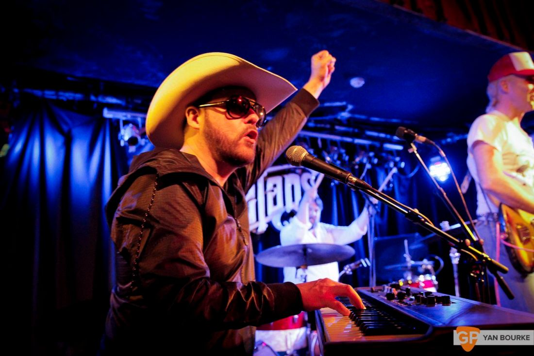 Josh T. Pearson at Whelan's on 18 May 2018 by Yan Bourke