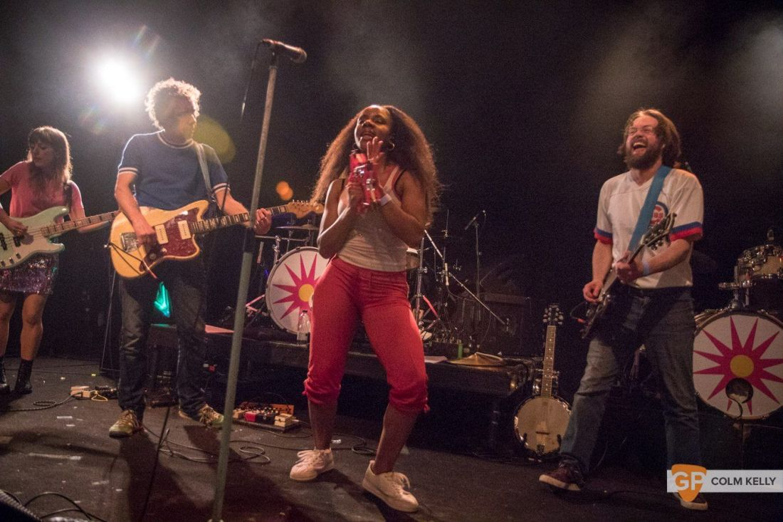 The Go! Team at The Button Factory, Dublin 3.5.2018 by Colm Kelly-5-38