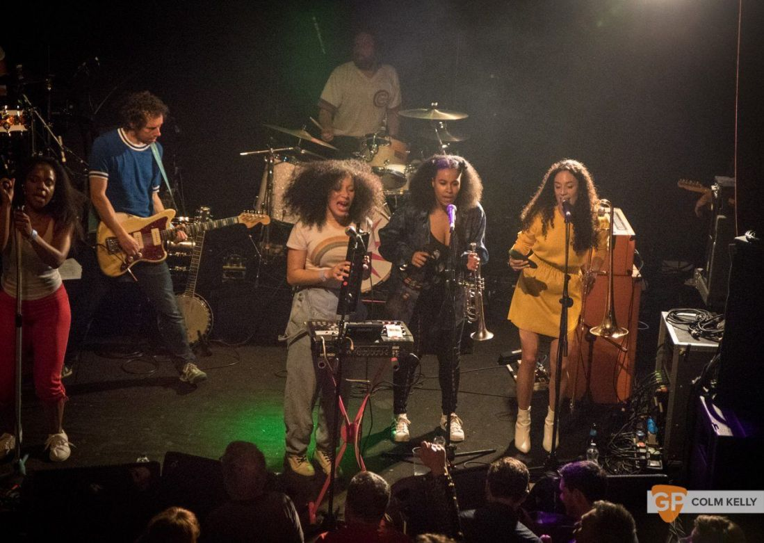 The Go! Team at The Button Factory, Dublin 3.5.2018 by Colm Kelly-5-46