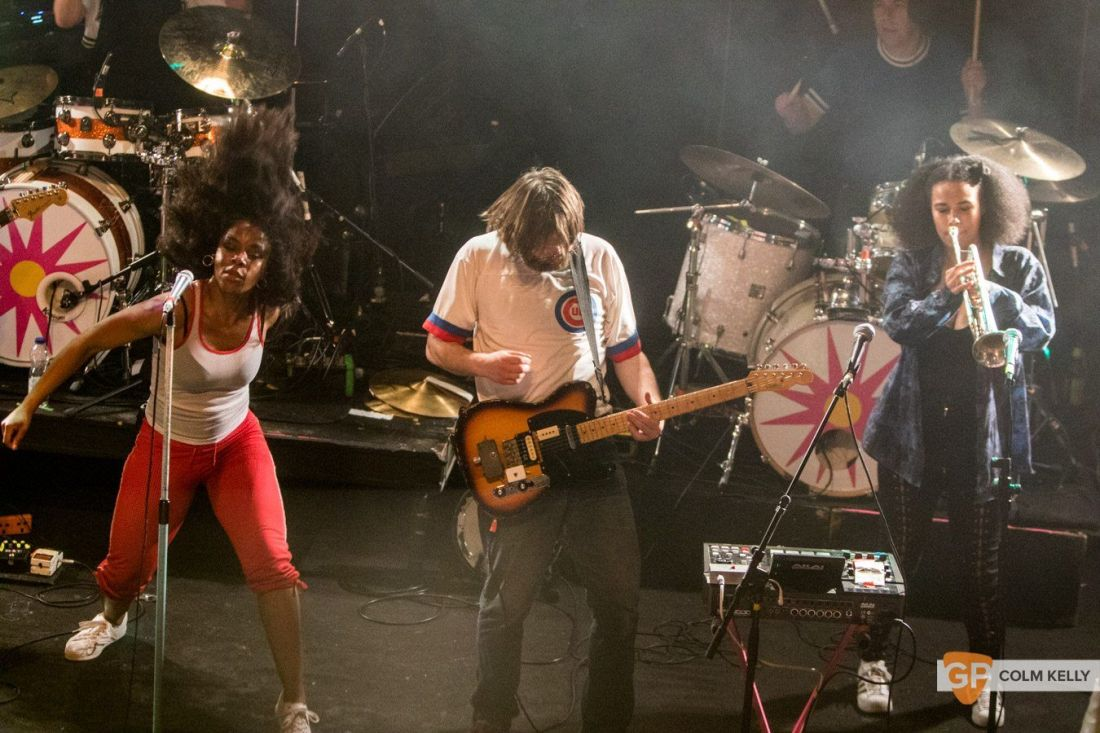 The Go! Team at The Button Factory, Dublin 3.5.2018 by Colm Kelly-5-60