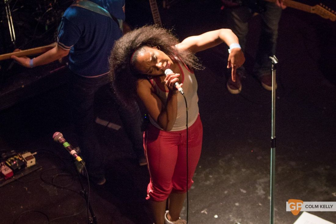 The Go! Team at The Button Factory, Dublin 3.5.2018 by Colm Kelly-5-7