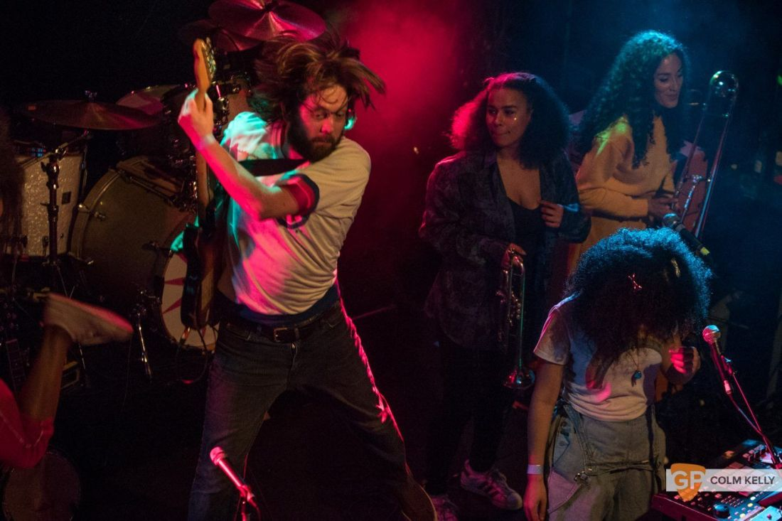 The Go! Team at The Button Factory, Dublin 3.5.2018 by Colm Kelly-5