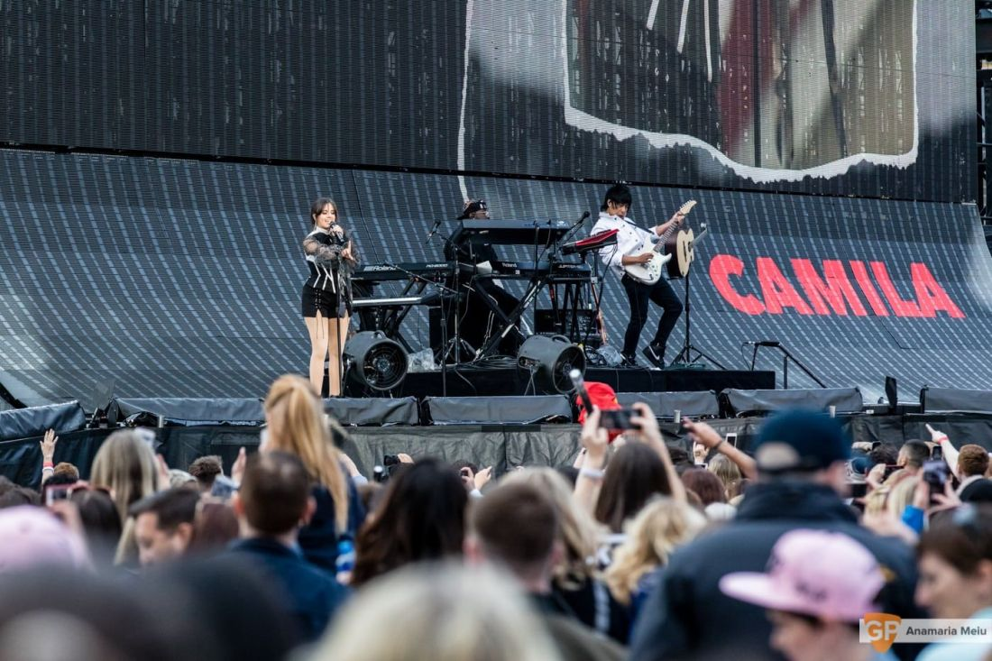 Camila Cabello at Croke Park by Anamaria Meiu