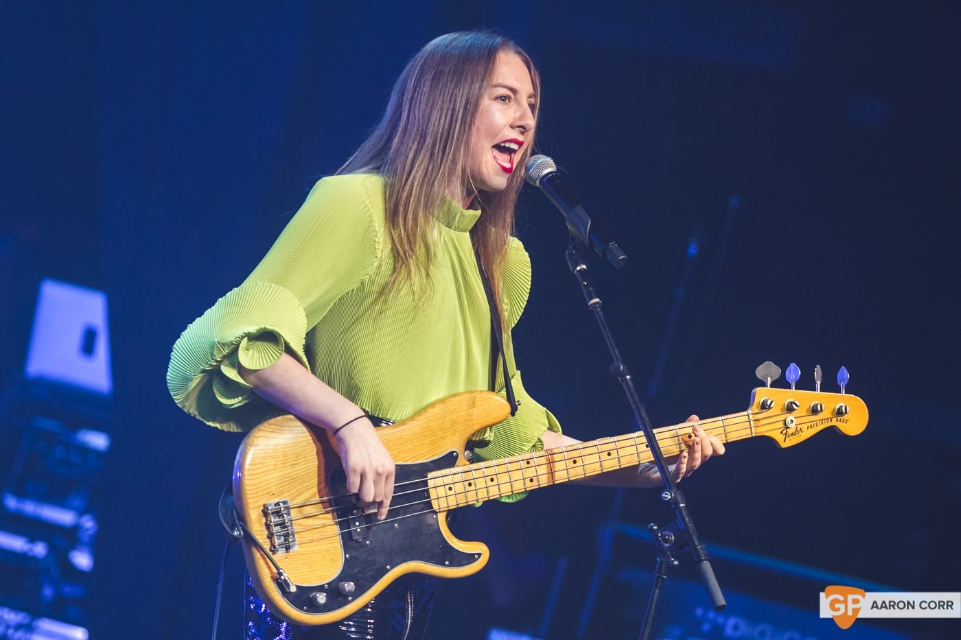 Haim at Olympia by Aaron Corr-2141