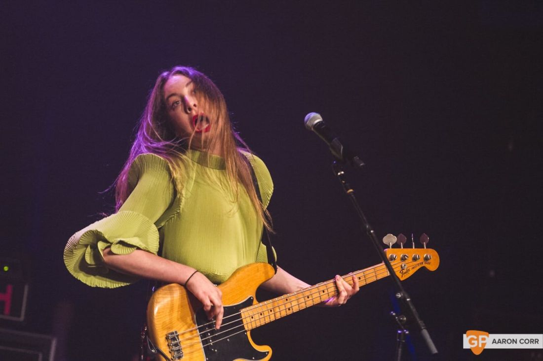 Haim at Olympia by Aaron Corr-2212