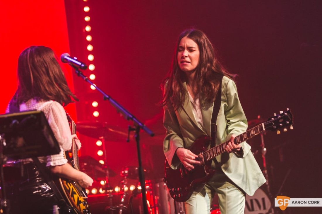 Haim at Olympia by Aaron Corr-2224