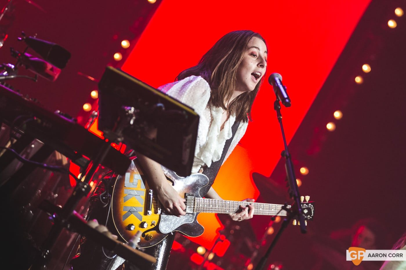 Haim at Olympia by Aaron Corr-2239