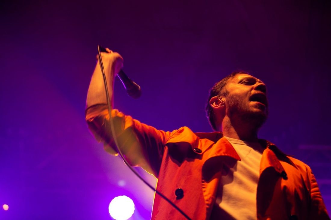 Everything Everything perform at Indiependence Festival 2018 by
